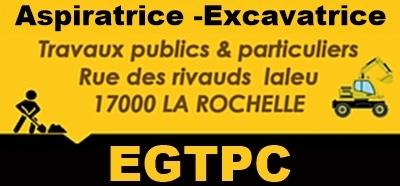 Sarl E.G.T.P.C. : terrassement, assainissement, travaux publics à La Rochelle - Rochelle (La)