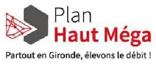 Plan haut méga logo